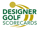 Designer Golf Scorecards